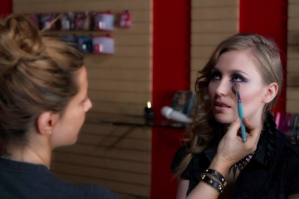 """Makeup in """"I'd Kill for You"""""""